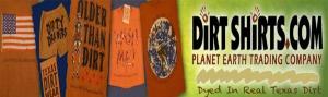 Dirt shirt advert