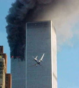 a-second-jet-liner-is-seen-lining-up-with-the-world-trade-center-september-11-2001